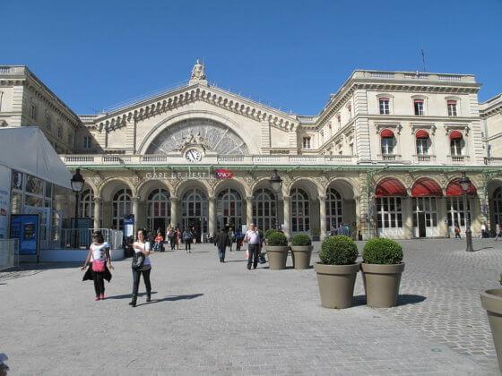 Восточный вокзал в Париже