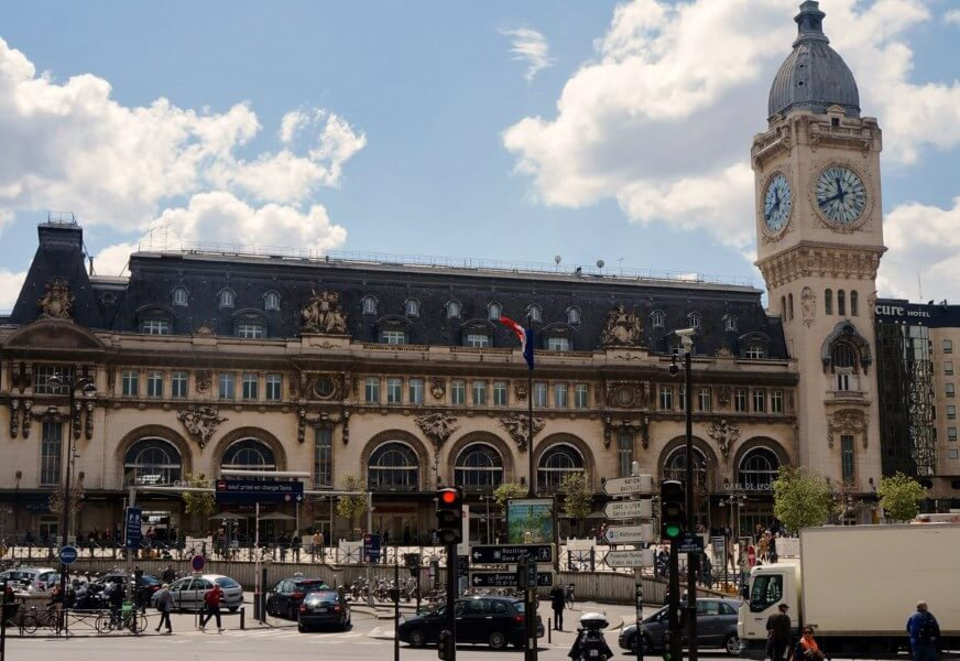 Северный вокзал в Париже