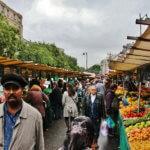 РынокLe marché de Belleville
