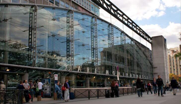7 вокзалов в Париже: адреса, метро, карта + фото