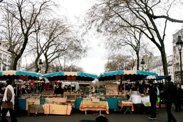 РынокMarché Bastille