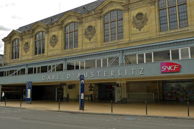 Вокзал Аустерлиц в Париже