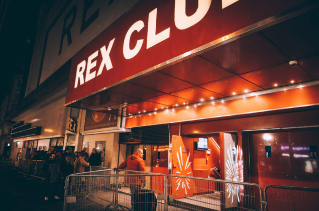 Ночной клуб rex club paris