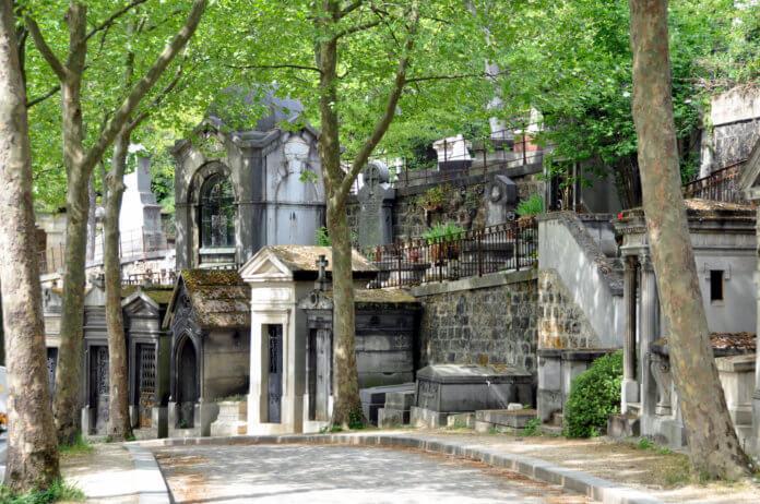 Кладбище Пер-Лашез в Париже