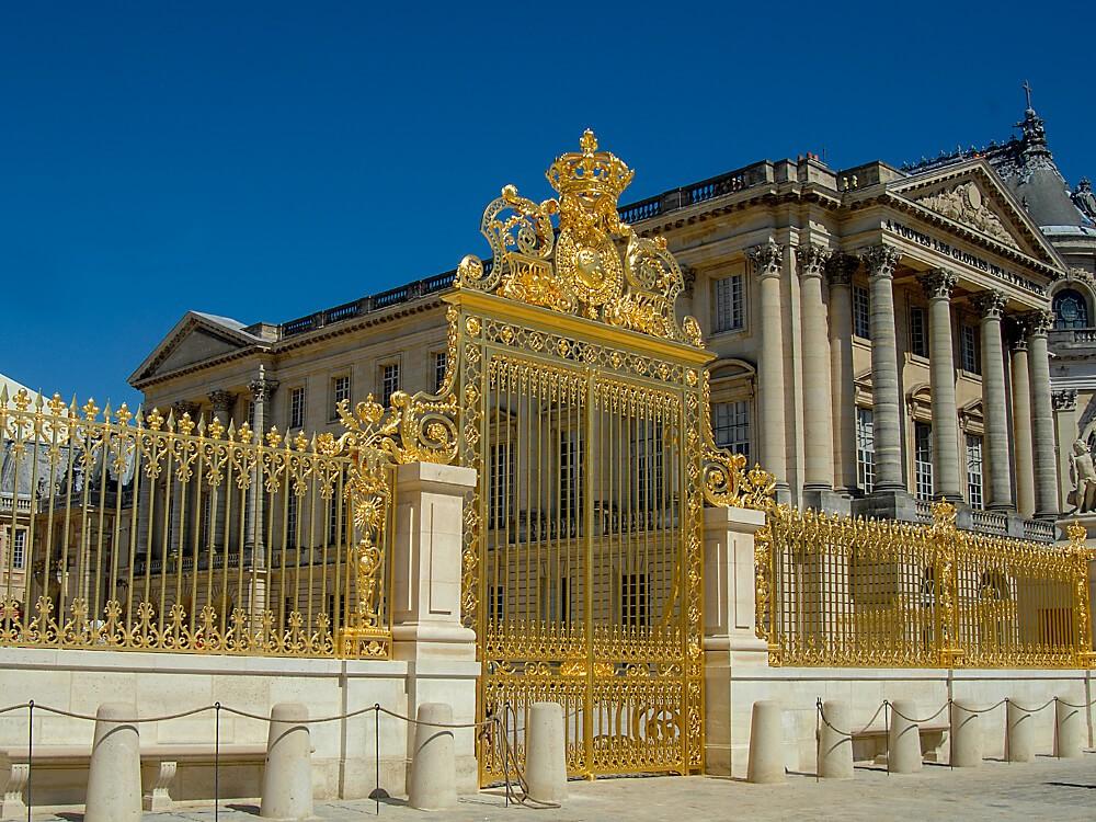 Все входы в Версаль