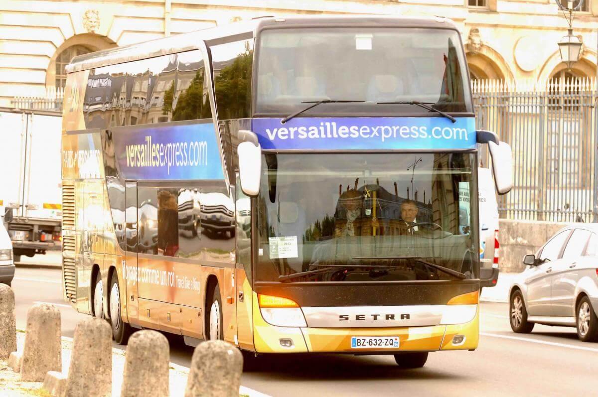 В Версаль из Парижа на автобусе