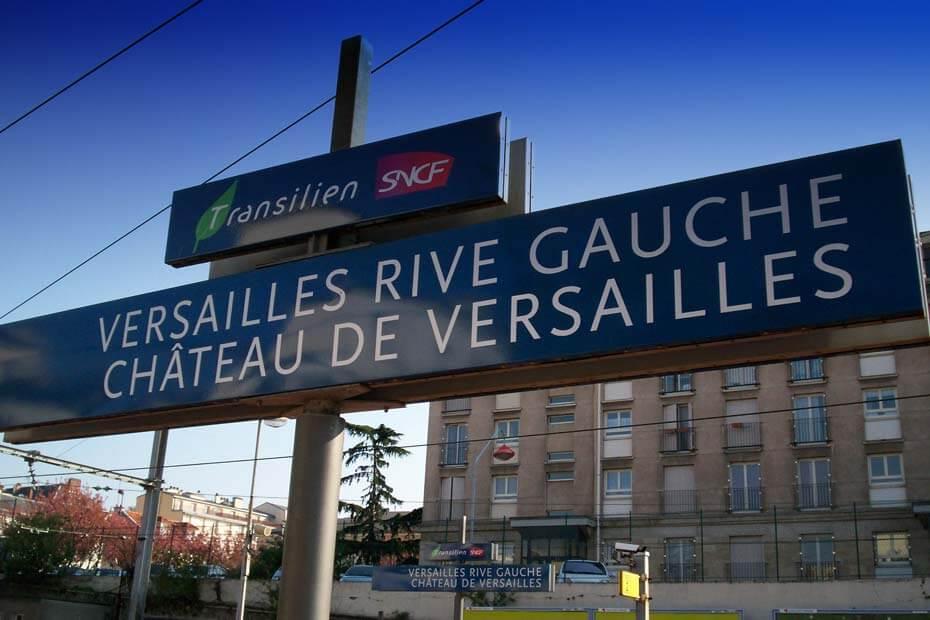 Как доехать в Версаль из Парижа дешево