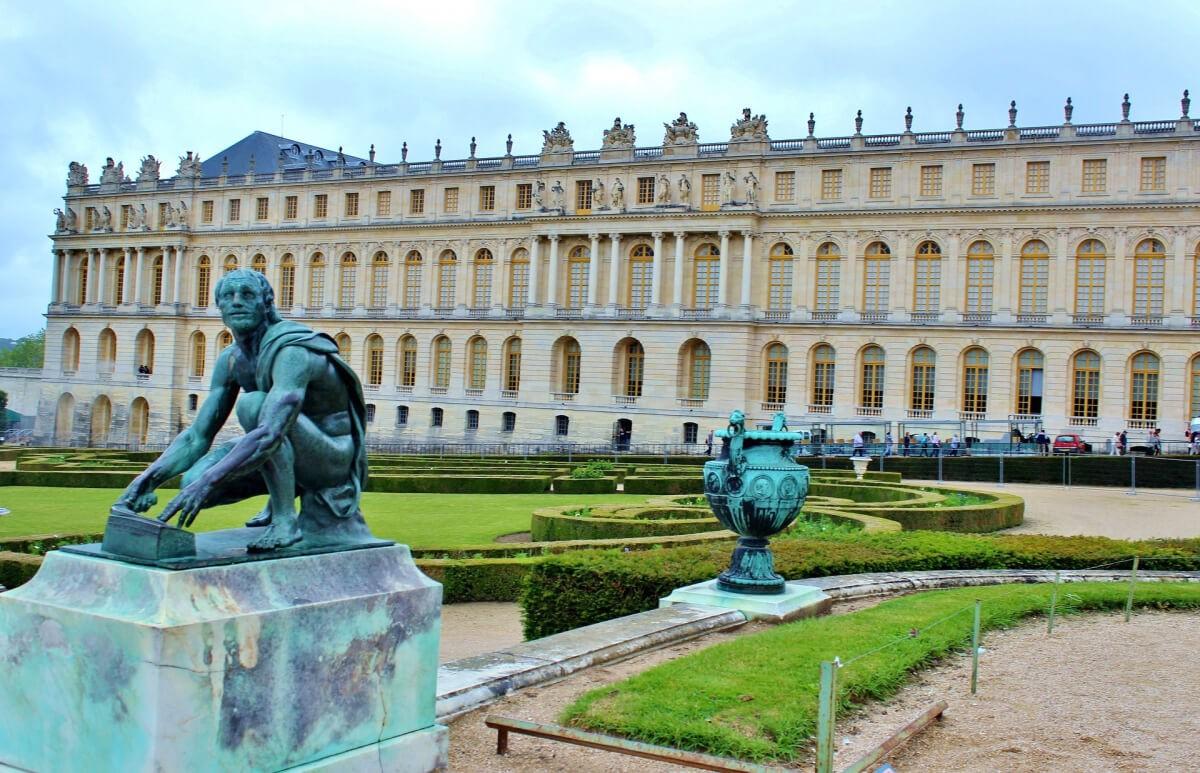 Из Парижа в Версальский дворец самостоятельно