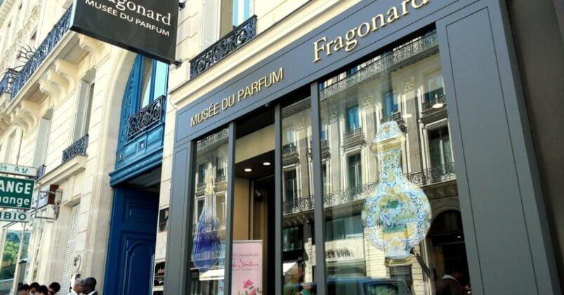 Бутик Fragonard в Париже