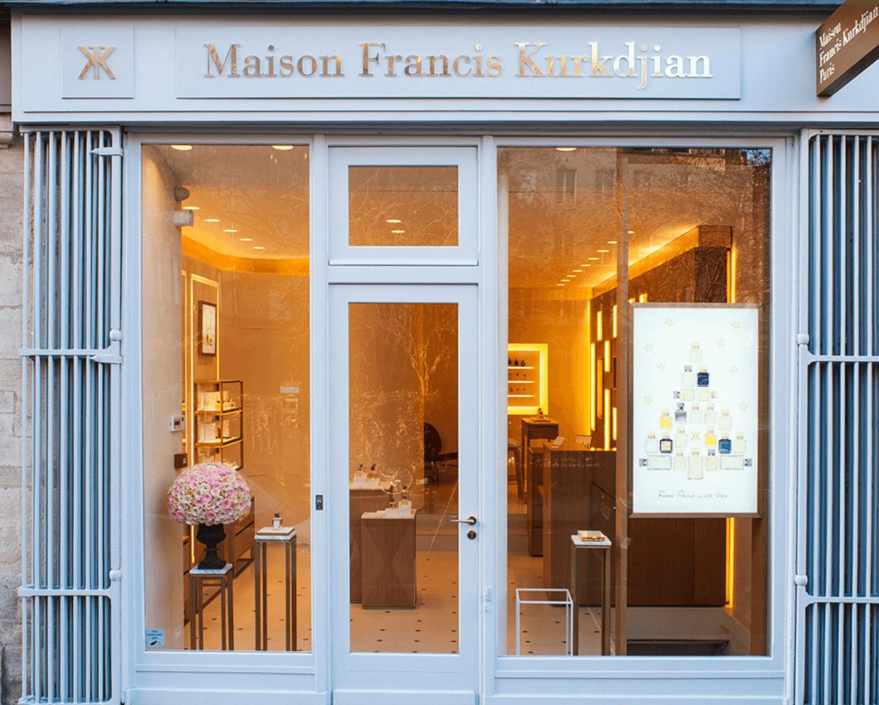 Магазин Maison Francis Kurkdjian в Париже