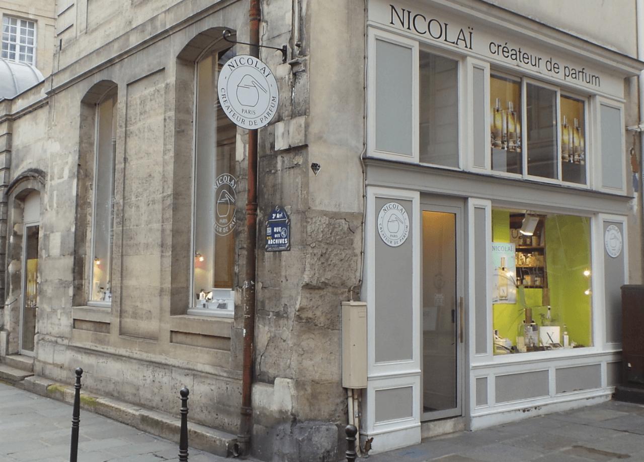 Магазин Parfums de Nicolai в Париже