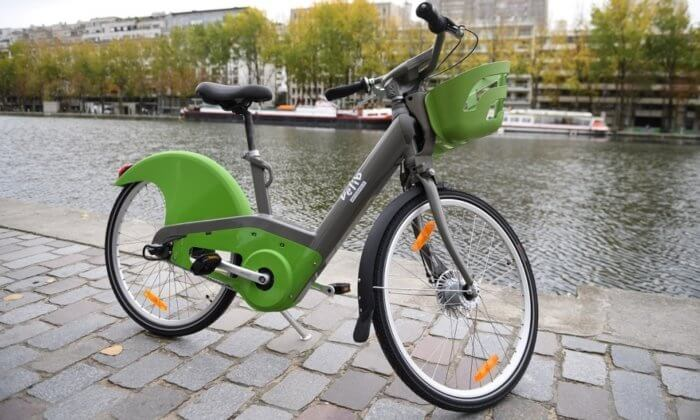 Прокат велосипедов Velib
