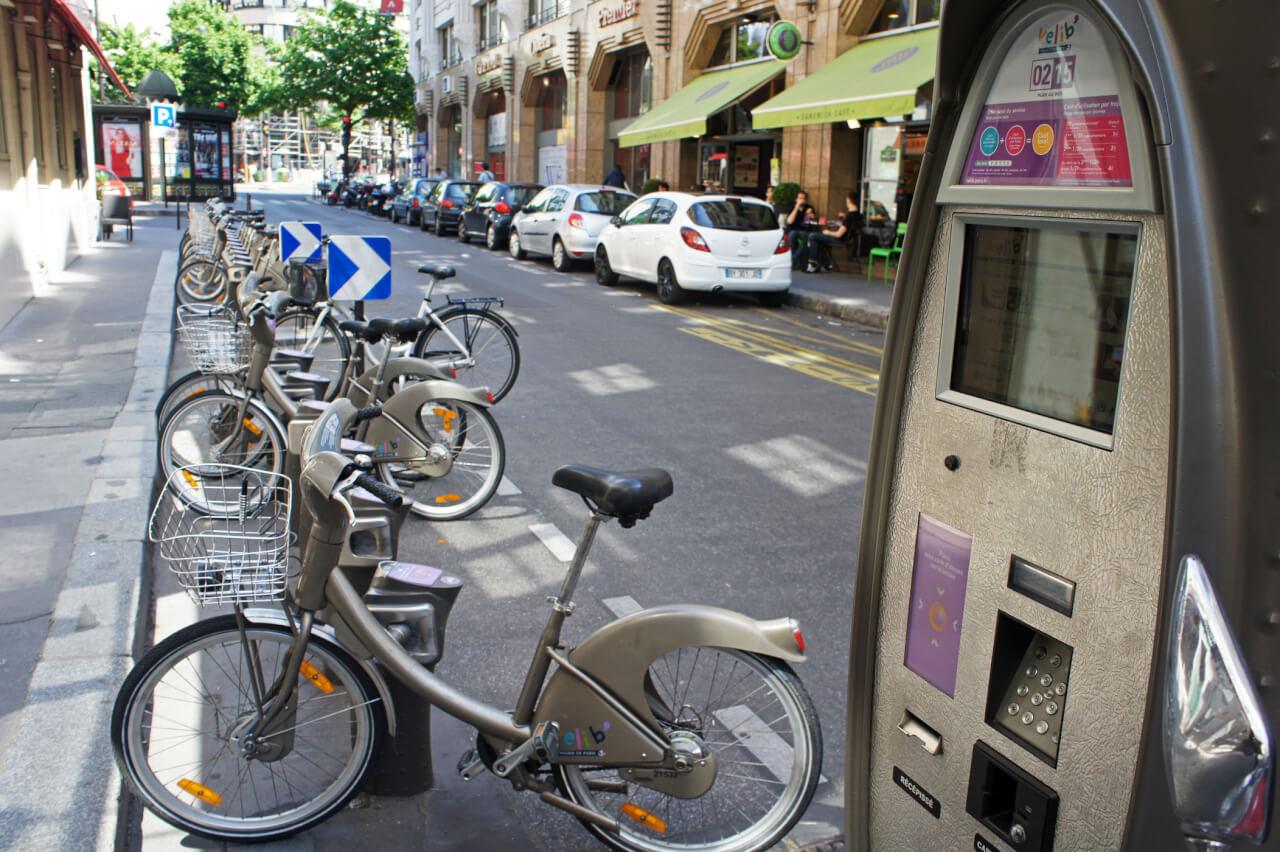Vélib' аренда в Париже