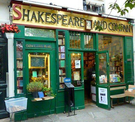 Книжный магазин Шекспир в Париже