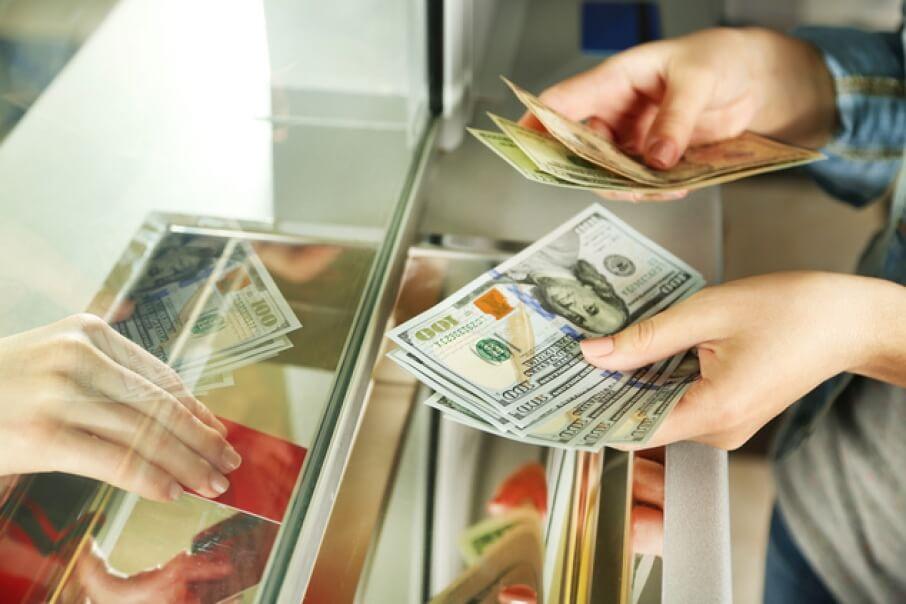 Обмен денег в Париже