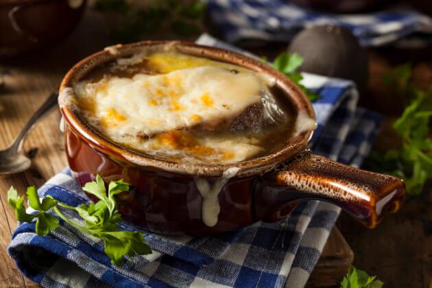 Луковый суп в Париже