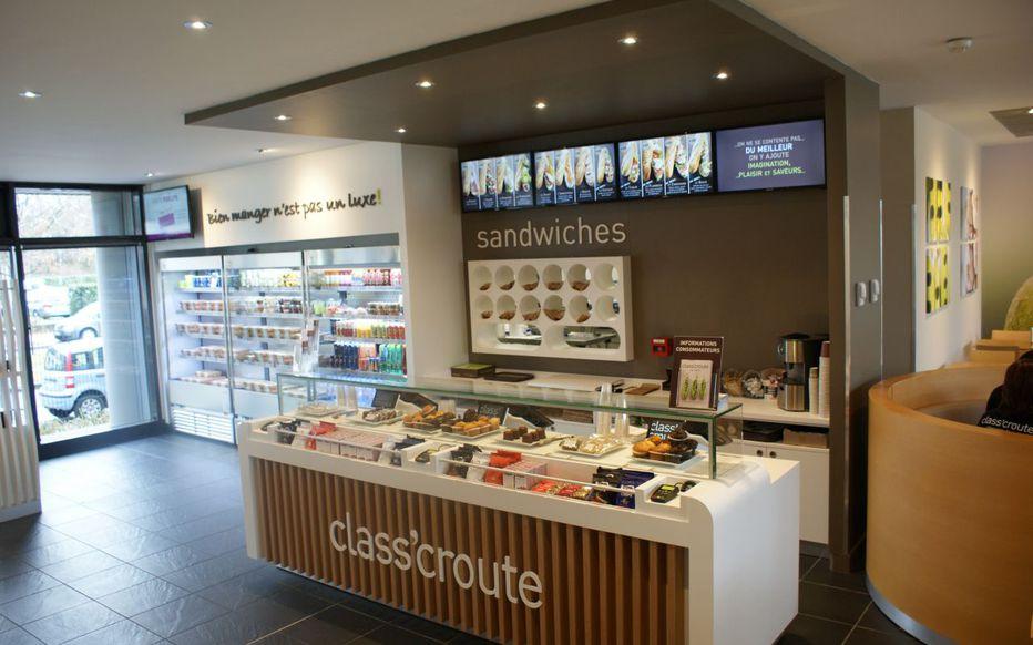 Сервис доставкиClass'croute в Париже
