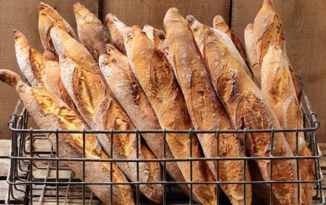 Багет (baguette) в Париже