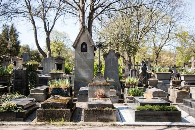 Кладбище Пер Лашез Париж