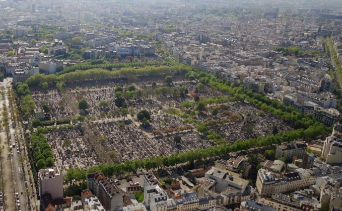 Кладбище Монпарнас в Париже