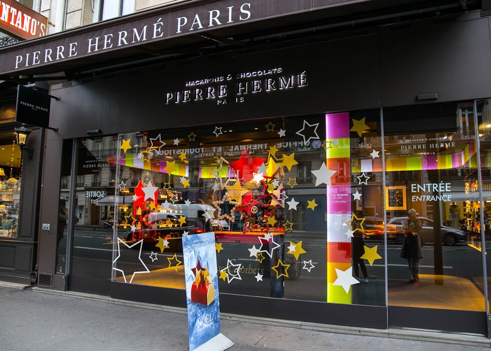 Кондитерская Pierre Herme в Париже
