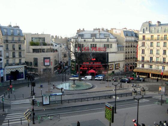 Площадь Пигаль в Париже