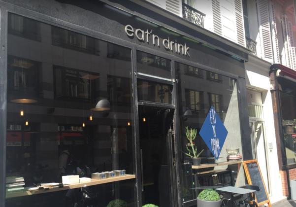 Сервис доставки Eat'n Drink в Париже