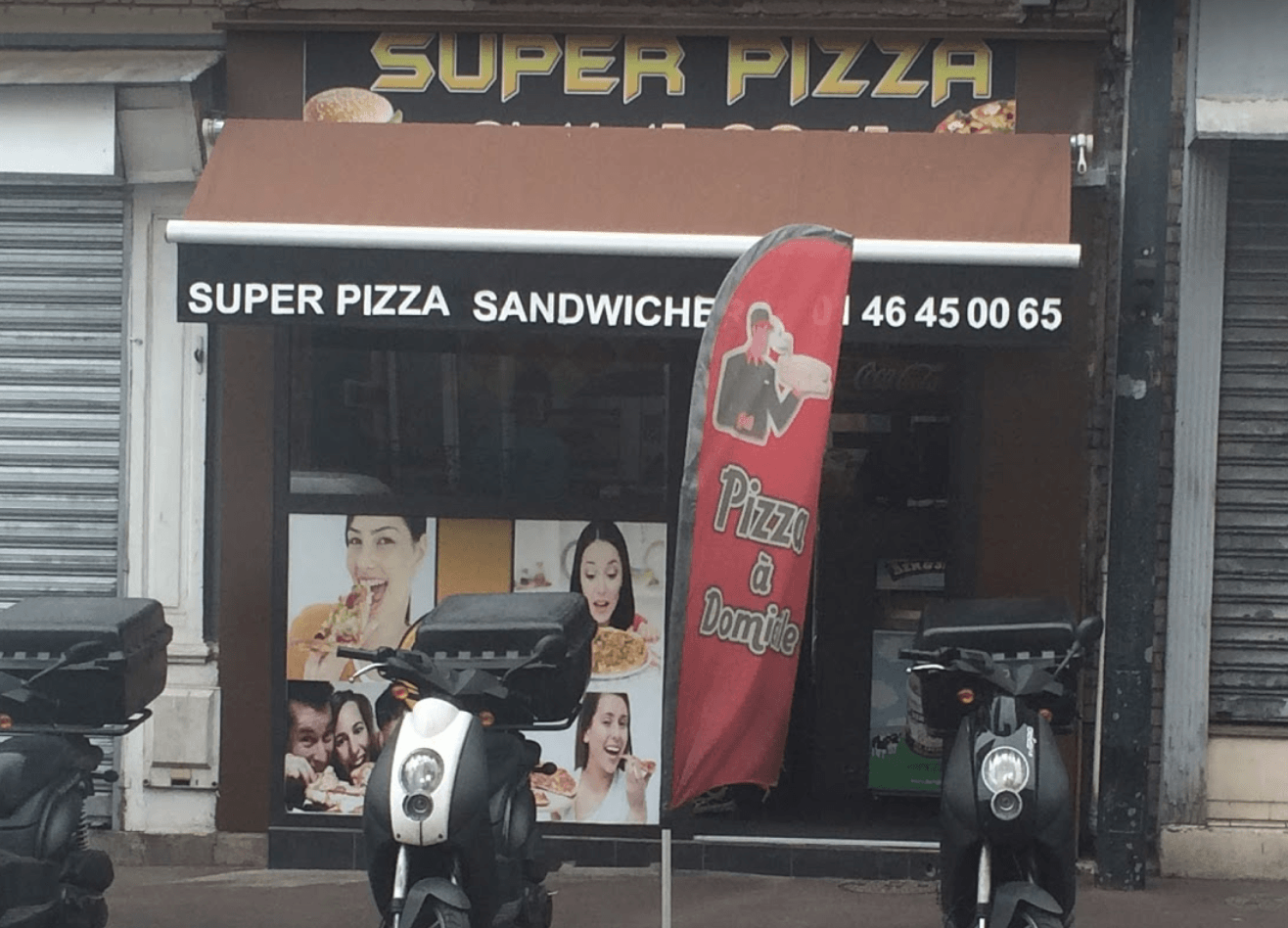 Сервис доставки Super Pizza