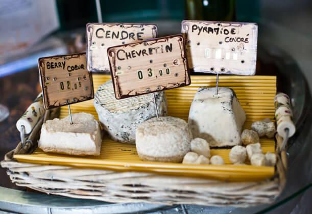 Сыр в Париже