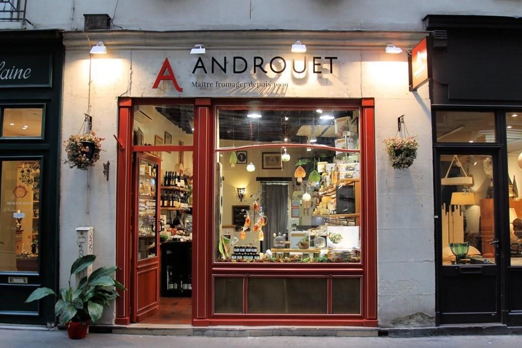 Androuet в Париже