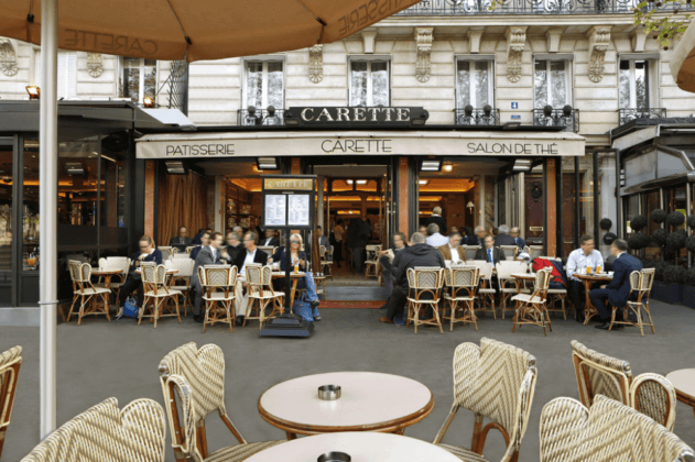 Carette в Париже
