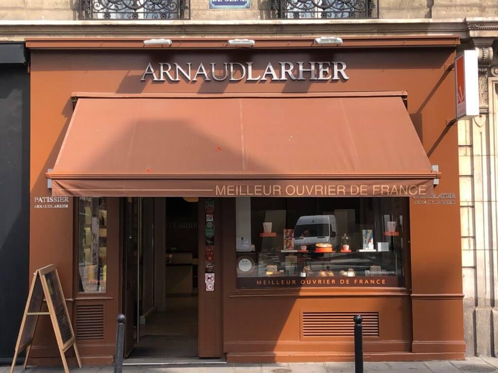 Кондитерская Arnaud Larher в Париже