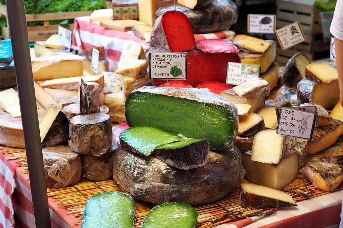 Сыр в Париже: где покупать