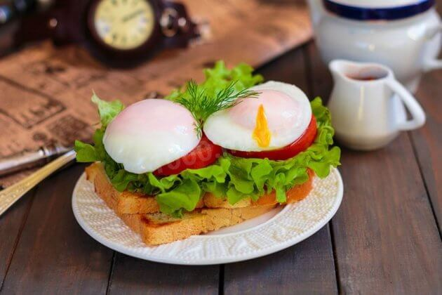 Яйца пашот в Париже