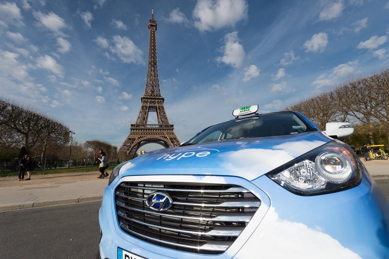 Из Шарль де Голль в Париж на такси