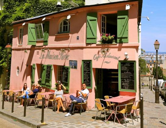 Кафе La Maison Rose