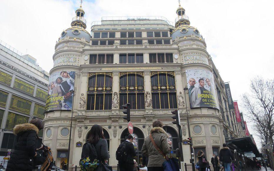 Универмаг Прентам в Париже