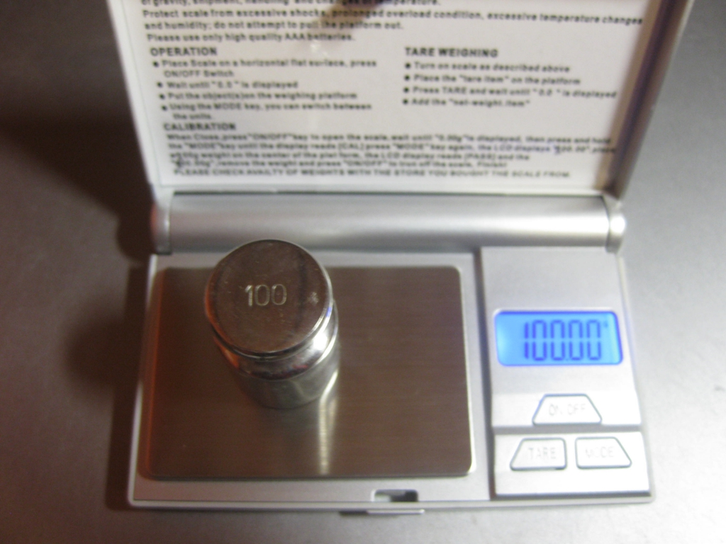 Портативные весы